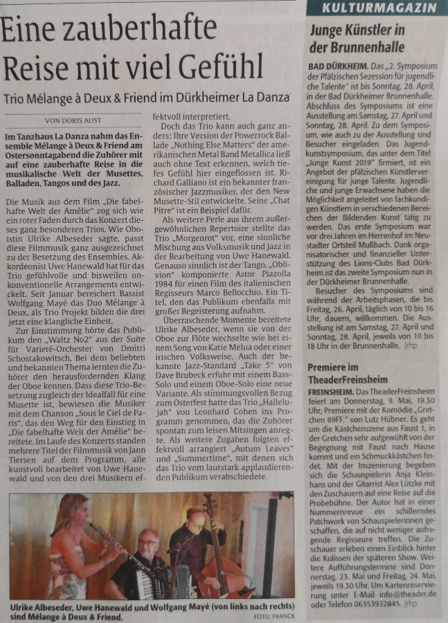 19-04-21 Rheinpfalz Bericht FB